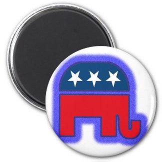 Republican Logo.tif 6 Cm Round Magnet