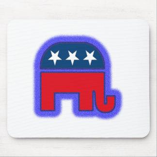 Republican Logo tif Mousepad