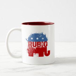REPUBLICAN MARC RUBIO Two-Tone COFFEE MUG