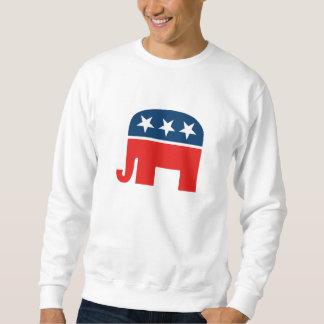 Republican Mascot Pullover Sweatshirts