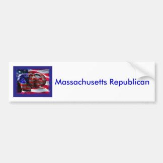 republican, Massachusetts Republican Bumper Sticker