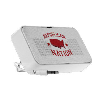 REPUBLICAN NATION PORTABLE SPEAKERS