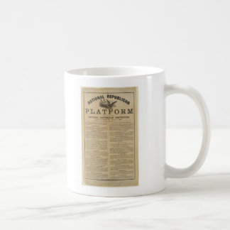 Republican National Convention Platform 1860 Basic White Mug