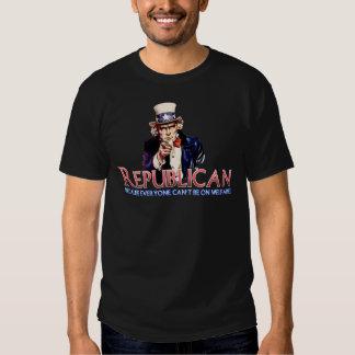 Republican, Not On Welfare T-shirts