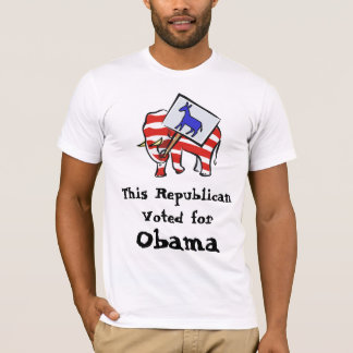 Republican Obama Supporter T-Shirt