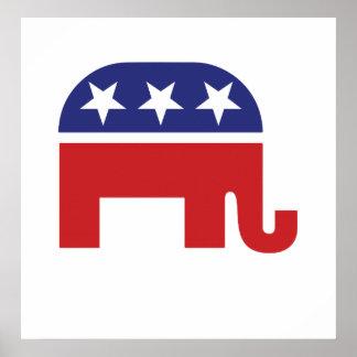 Republican Original Elephant Poster