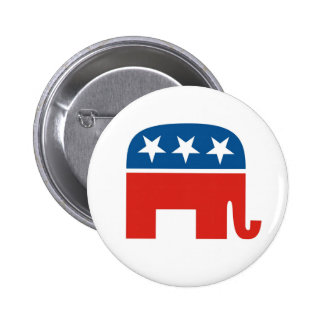 Republican Party 2012 6 Cm Round Badge