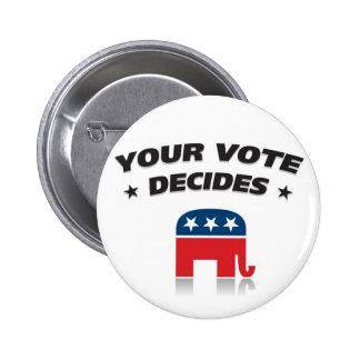 Republican Party 2012 Button