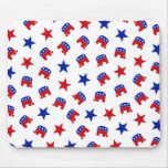 Republican Party Collage Mouse Pad