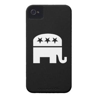 Republican Party Pictogram iPhone 4 Case