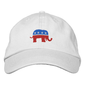 Republican Patriotic / Election Cap by SRF Embroidered Hats