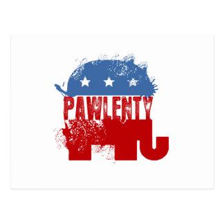 REPUBLICAN PAWLENTY POST CARD