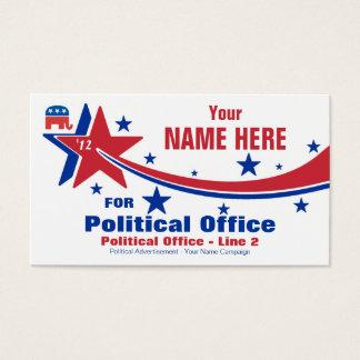 Republican Political Election Campaign Business Card