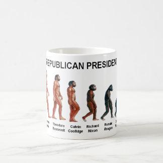 REPUBLICAN PRESIDENTS CLASSIC WHITE COFFEE MUG