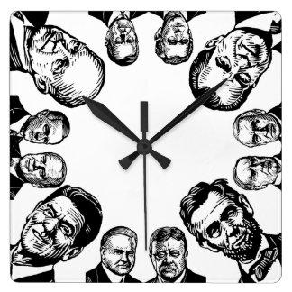 Republican Presidents Wall Clock