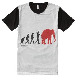 REPUBLICAN REVOLUTION - Politiclothes Humor -.png All-Over Print T-Shirt