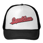 Republican Script Logo Deluxe Red Hat