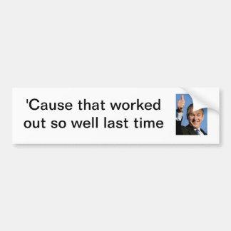 Republican Sticker Response Bumper Sticker