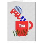 Republican Tea Greeting Card
