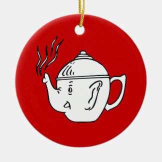 REPUBLICAN TEA PARTY CHRISTMAS ORNAMENT
