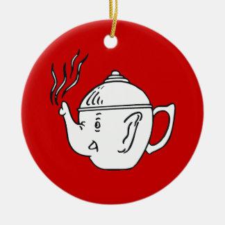 REPUBLICAN TEA PARTY CHRISTMAS ORNAMENT