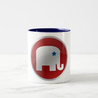 Republican Two-Tone Coffee Mug