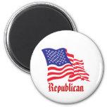 Republican/USA/American Flag Magnets