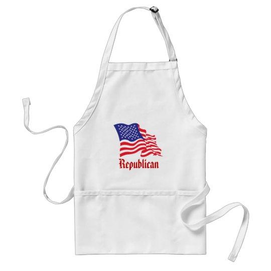 Republican/USA/American Flag Standard Apron