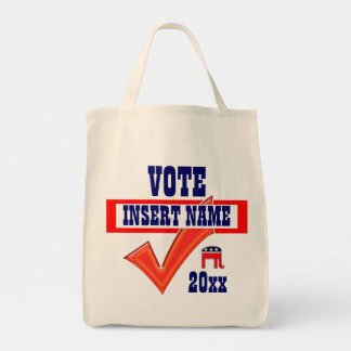Republican vote President 20xx CUSTOMIZE Tote Bag