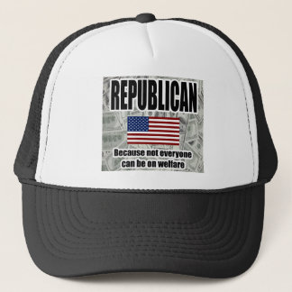 Republican Welfare Hat