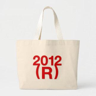 Republican Win in 2012 Tote Bag