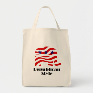 Republican with Style (2) Canvas Bag