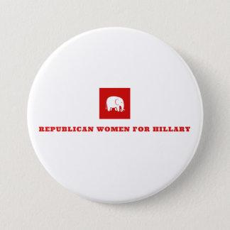 Republican Women for Hillary Button