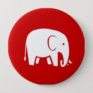Republican Women for Hillary Logo Button