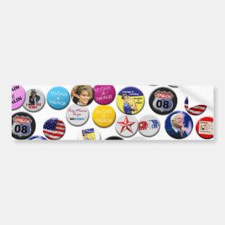 Republican Women for McCain Buttons Bumper Sticker