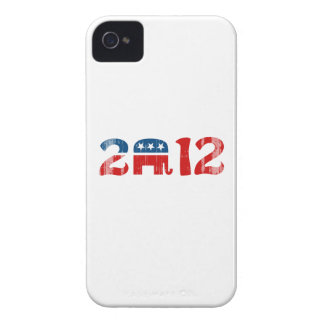 Republicans 2012 - Faded.png iPhone 4 Covers