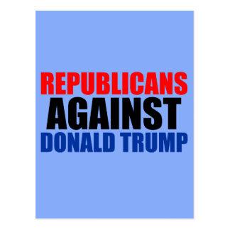 Republicans Against Donald Trump Postcard