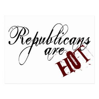 Republicans are Hot Postcard