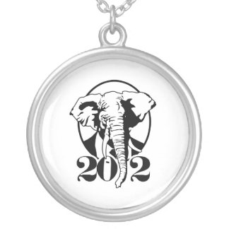 REPUBLICANS ARE MY HOMEBOYS ROUND PENDANT NECKLACE