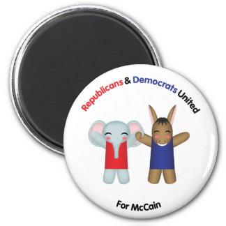 Republicans & Democrats United Magnet