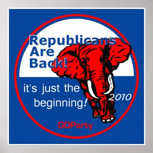 REPUBLICANS Poster Print