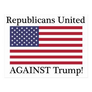 Republicans United Against Trump Postcard