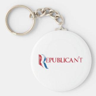 Republican't.png Key Ring