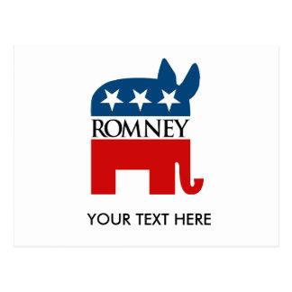 Republicrat Romney Postcards