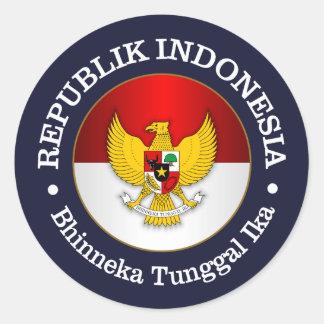 Republik Indonesia Round Sticker