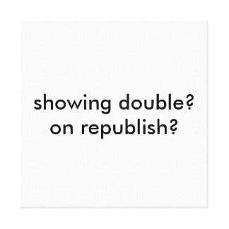 republish the republished gallery wrap canvas
