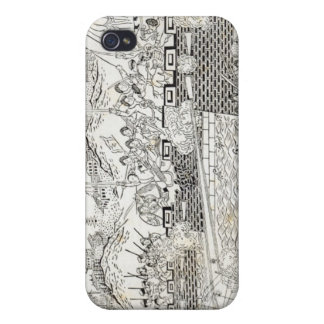 Repulse of the French Gun-boats iPhone 4 Case