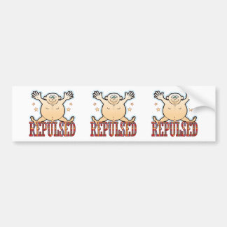 Repulsed Fat Man Bumper Sticker