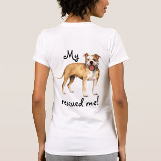 Rescue American Pit Bull Terrier T Shirts