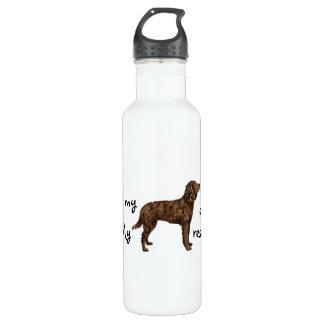 Rescue American Water Spaniel 710 Ml Water Bottle